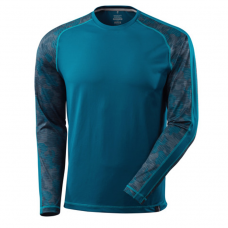 MASCOT® ADVANCED T-shirt long-sleeved, moisture wicking, modern fit