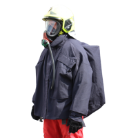 LION Poncho for firefighting trainings