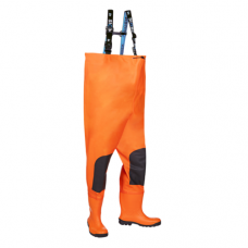 SIOEN GYLEEN Hi-Vis chest wader with safety boots